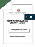 Plan Desarrrollo Regional Concertado