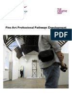 Professional Pathways in Fine Art - Final Report