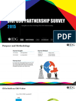 CIO/CSO Partnership Survey