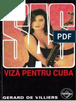 Gerard de Villiers - Vizã Pentru Cuba