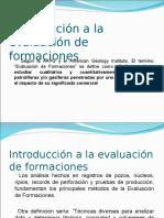 Evaluación de formaciones