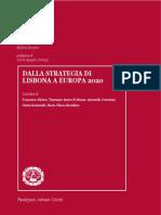 StrategiDalla Strategia di Lisbona a Europa 2020a Di Lisbona