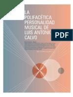Polifacetica Luis a Calvo