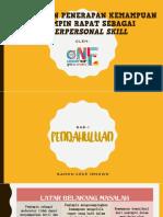 Interpersonal Skills - Running Meetings
