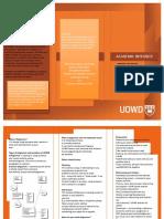 Academic Integrity Brochure - UOWD