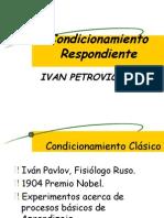 Condicionamiento de Pavlov