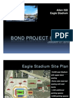 Allen high school football stadium drawings, specs