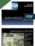 Allen high school football stadium drawings, specs