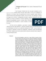 Ficha o Pêndulo de Foucault