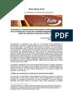 Inzunza, A. (2012). Periodismo y Comunicación Intercultural