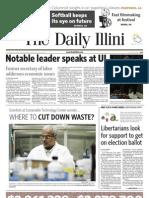 The Daily Illini - Tuesday, April 13, 2010