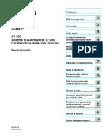 s7300 Module Data Manual It-IT It-IT