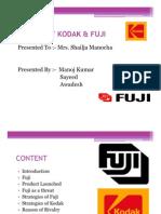 Kodak & Fuji Rivalry (Mk)