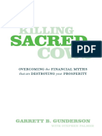Killing Sacred Cows - Garrett B. Gunderson