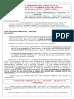 Organización Del Circuito y Carta