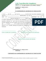 CONSTANCIA DE SUSPENSIÓN DE AUDIENCIA DE CONCILIACIÓN 2015.docx