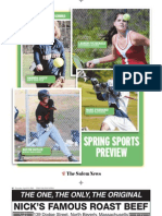 Salem News 2010 Spring Sports Preview