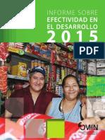 Informe Sobre Efectividad en el Desarrollo