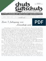 Gasschutz Und Luftschutz 1937 Nr.1 Januar