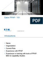Intro to APQP on Site PPAP Training