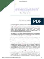 DERECHO & CAMBIO SOCIAL- Violacion de Domicilio