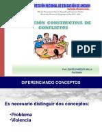 Resolución Constructiva de Conflictos