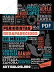 Informe Especial sobres Periodistas Desaparecidos.