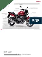 PDF Honda Cbf600n 2008