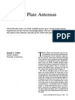 Flate Plane Antennas