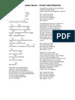 Nex Verkomma Lassa - Text und Chords