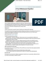EPF Withdrawl