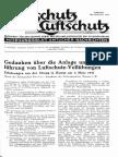 Gasschutz Und Luftschutz 1937 Nr.8 August