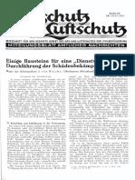 Gasschutz Und Luftschutz 1937 Nr.7 Juli