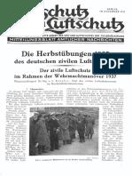 Gasschutz Und Luftschutz 1937 Nr.12 Dezember