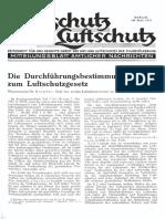 Gasschutz Und Luftschutz 1937 Nr.5 Mai