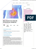 Reconoce El Dolor Intestinal Mortal - Barcelona Alternativa