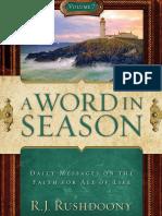 Word in Season Vol. 7