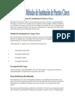 Definición e Importancia de Sustitución de Puestos Claves