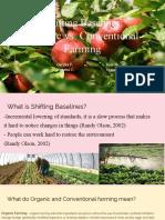 shifting baselines organic vs  conventional farming   1