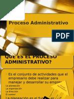 1.- Proceso Administrativo