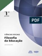 Ciencias Sociais Filosofia Da Educacao