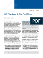 Atlantic Isis War Game III Original