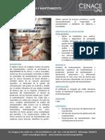 Auditoria y Benchmarking Del Proceso de Gestion Del Mantenimiento