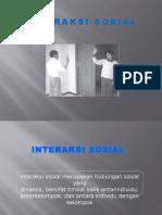Interkasi Sosial