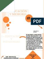 2013 Diapos Educación y Memoria
