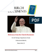 The Church Documents ( for the Students of Theology)