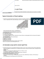 Calculate No of Street Light Poles _ Electrical Notes & Articles