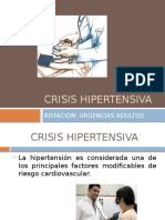 Crisis Hipertensiva en Urgencias mip