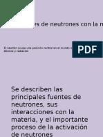 Interacción de los neutrones con la materia - Javier Morales