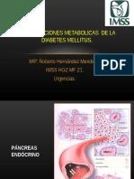 Complicaciones Metabólicas de la DM, MIP Hernández M R.ppt